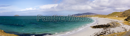 panoramic view of princes beach coileag
