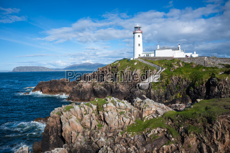fanad head lighthouse county donegal ulster