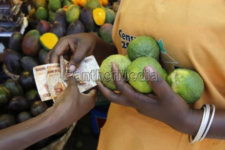 nakasero market kampala uganda africa