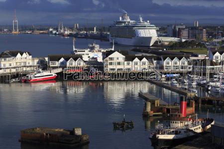 town quay port of southampton hampshire