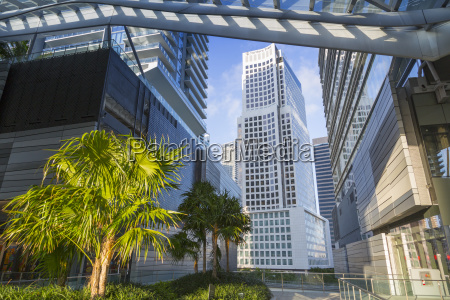 view from brickell city centre shopping