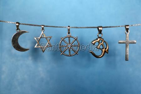 symbols of islam judaism buddhism hinduism