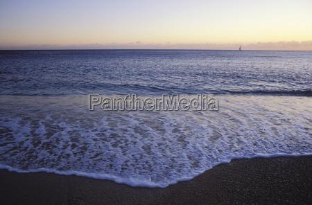 waters horizon beach seaside the beach