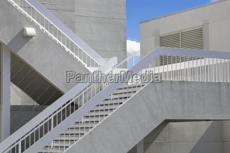 stairs detail american modern modernity america